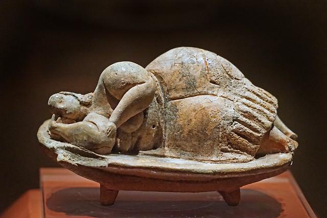 La Dame endormie (Musée national d'archéologie, La Valette, Malte)