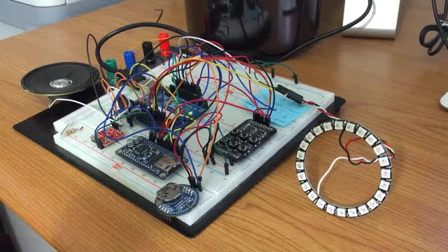 Talking Clock With Neopixels