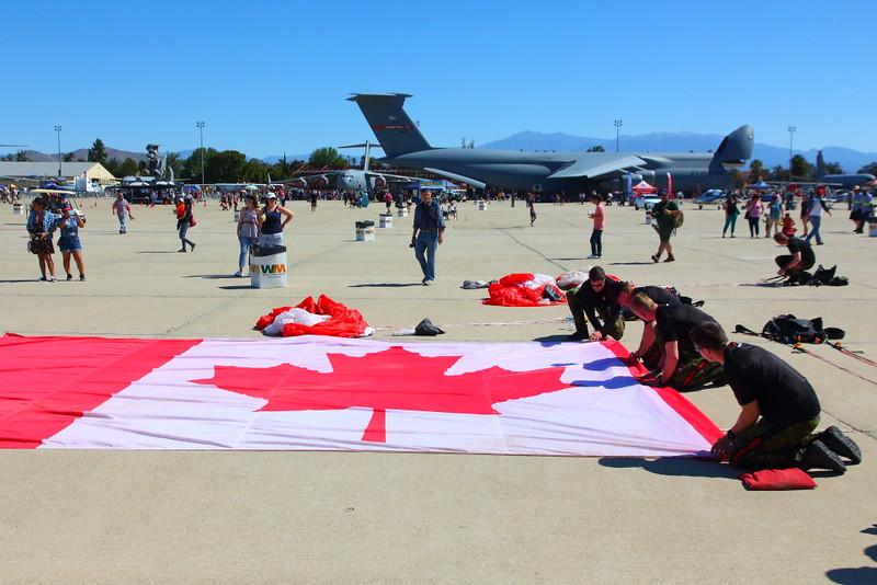 IMG_2938 Canadian SkyHawks Parachute Team