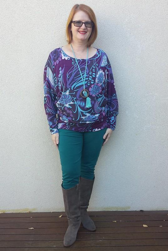 Kwik Sew 3729 in Knitwit knit