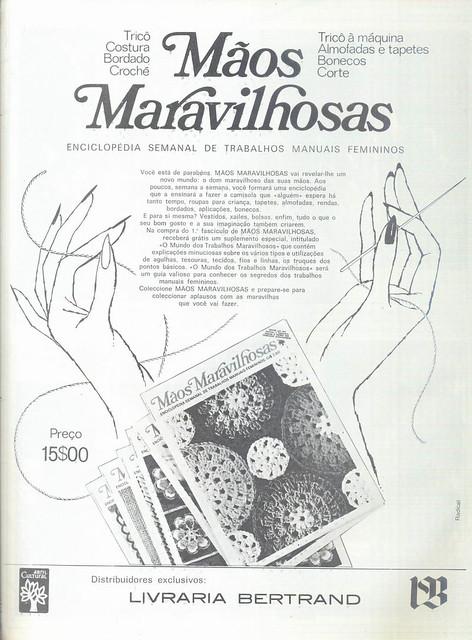 Modas e Bordados, No. 3187, 7 Março 1973 - 7