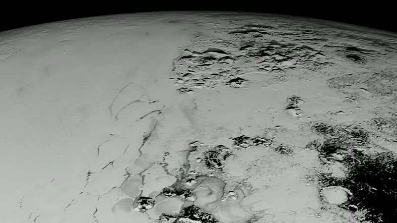 A Close Look At Pluto