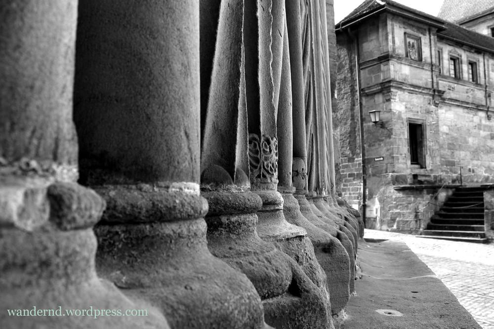 Bamberger Dom: Detail Fürstenportal