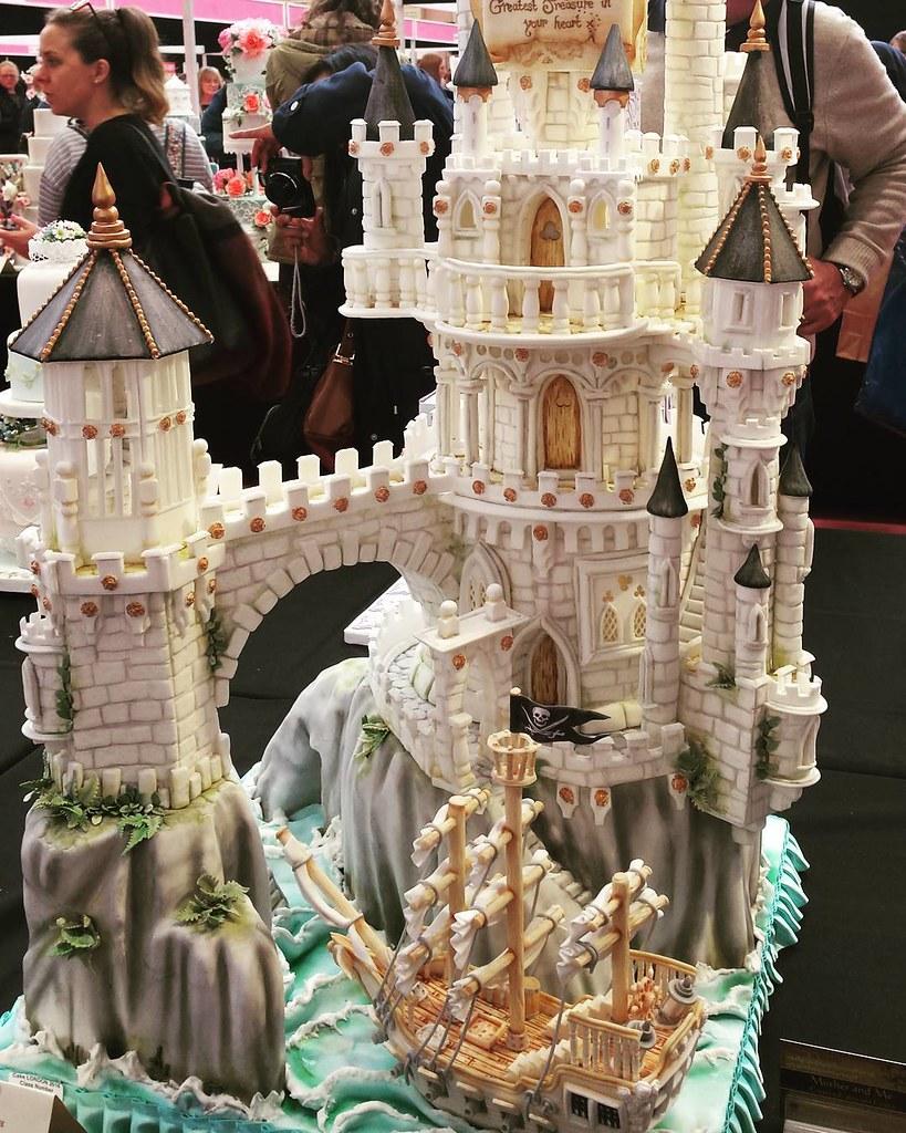 Fairytale Castle at Cake International 2016