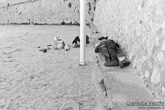 Francia: Antibes in Costa Azzurra, Plage de la Gravette