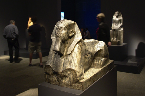 Statue of Senwosret III as a Sphinx
