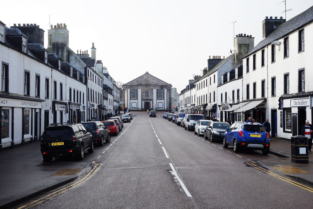 Central Inveraray, Argyll, Scotland