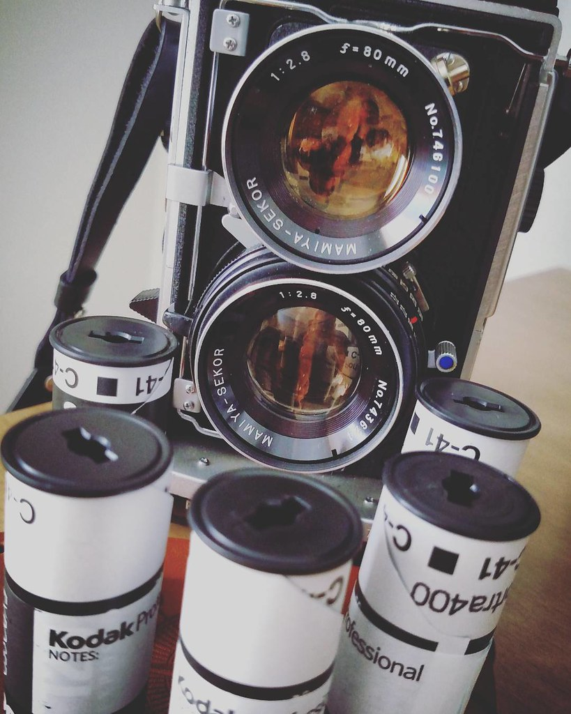 Excited to get home and get all this film developed from #SXSW