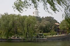 white pagode beihai park