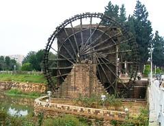 Waterwheel (Noria), Hama, Syria