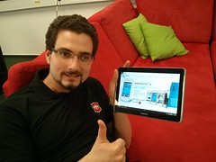 Niko is excited about the Firefox OS Launch in Serbia