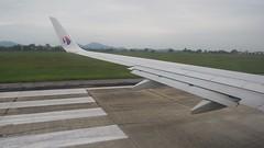Taking off from Noi Bai International Airport, Hanoi
