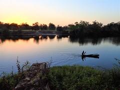 Kim's View of the Geba River in Bafata, Guinea-Bissau