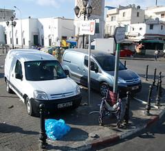 Vita Cittadina con sedia a rotelle - Tunisi