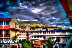 Volcan Galeras desde la Universidad Mariana