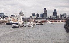 The View from the Millenium Bridge by loscuadernosdejulia