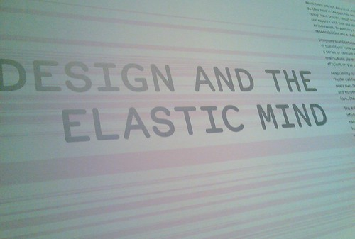 Design and the elastic mind | by Unlisted Sightings