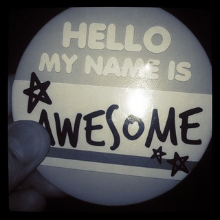 Hello my name is AWESOME | by Raymond Abril III