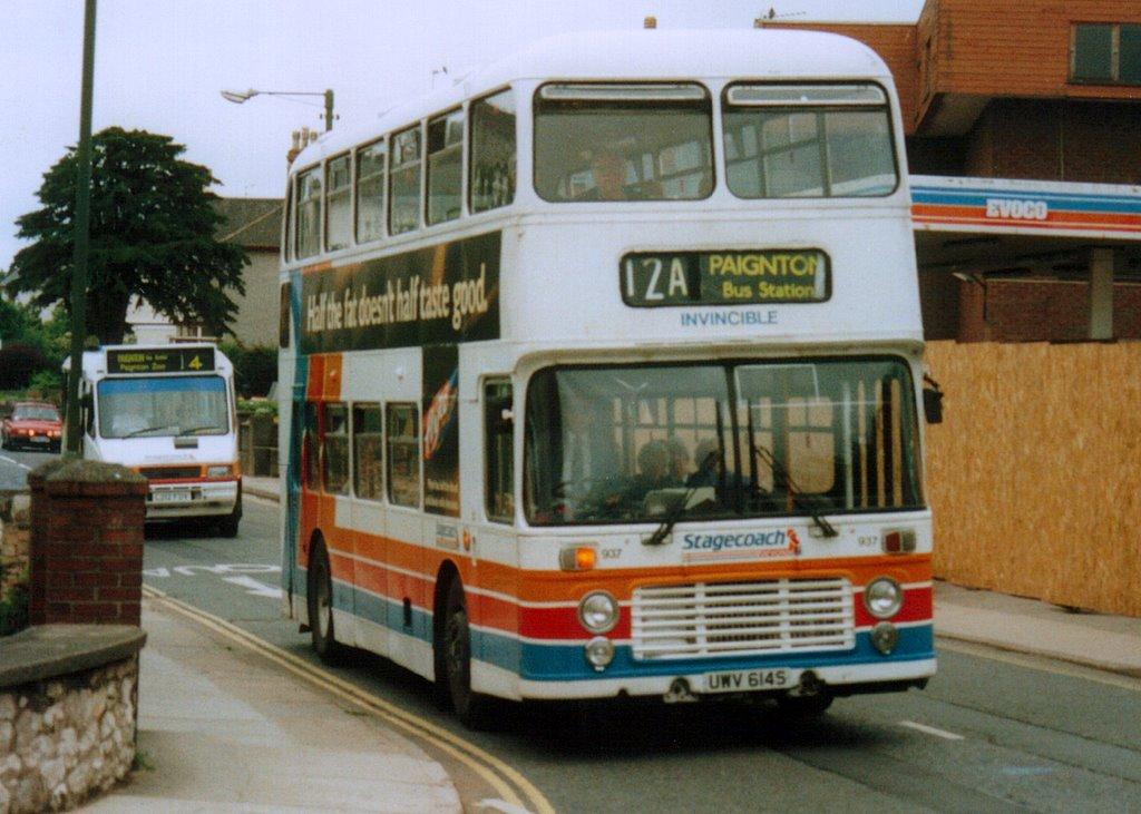 Stagecoach Devon 937 (UWV 614S)