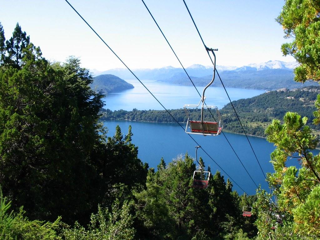 Argentina Bariloche: Vista desde Cerro Campanario