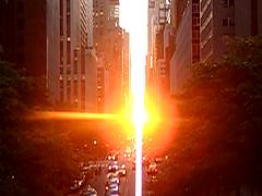 Manhattanhenge: the video by hbomb1947 the turnstile-jumper
