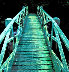Over the ricketty, racketty bridge | by tina negus