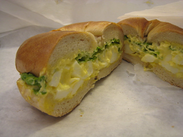 Bagel and Egg Salad