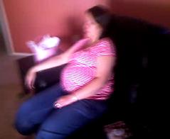Pregnant Yawn by TPorter2006