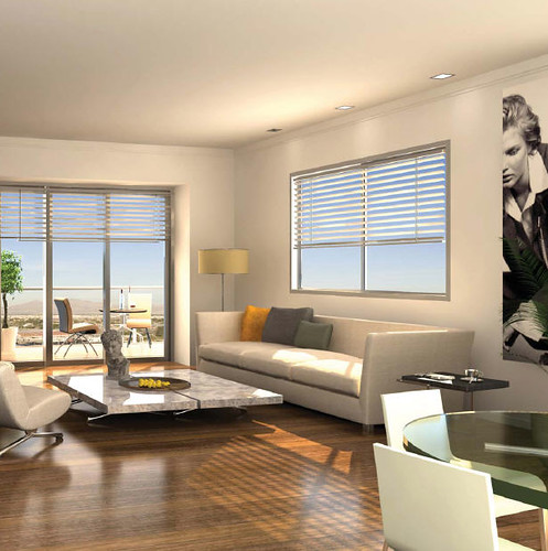 Las vegas condo interior design one las vegas condo interi flickr Interior decorators las vegas