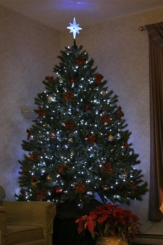 Image Result For Christmas Tree Decorated In Blue