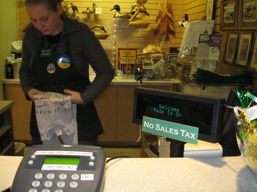 Oregon - no sales tax | by Richard Masoner / Cyclelicious