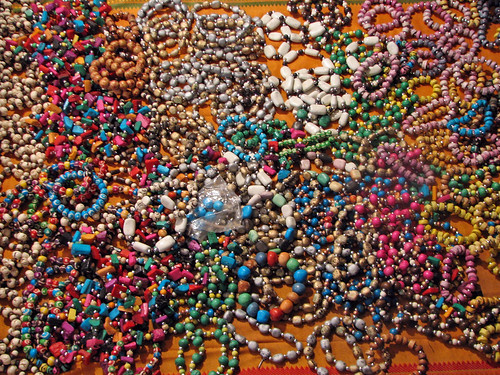 India - Rishikesh - 027 - a rainbow of bracelets for sale | by mckaysavage