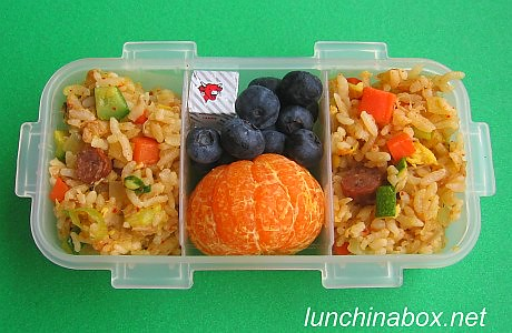 Kimchi fried rice bento lunch for preschooler | by Biggie*