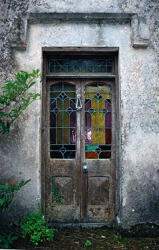The front door of the old Lynch house ~ | by **Mary**