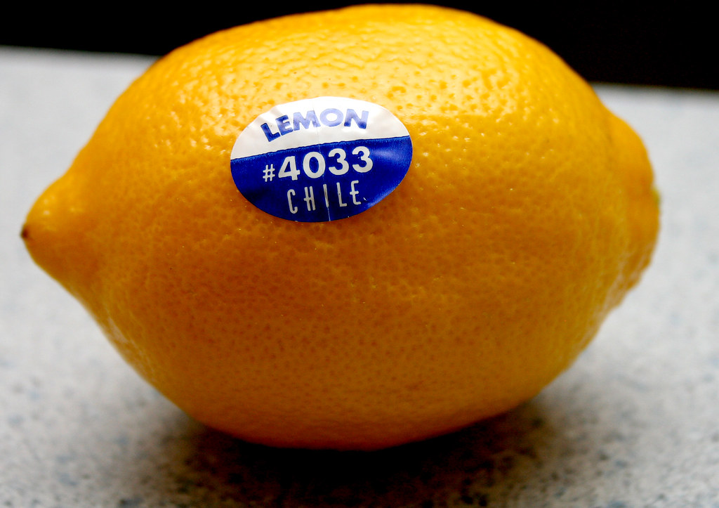 Lemon from Chile