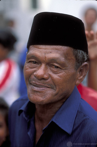 Portrait of man. Indonesia | by World Bank Photo Collection