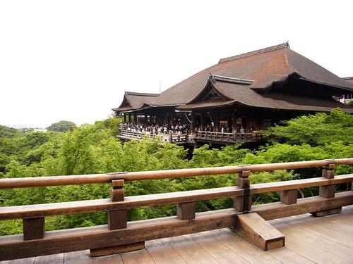 Stage at Kiyomizu