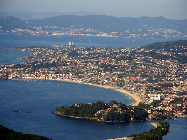 Playa America Nigran Galicia