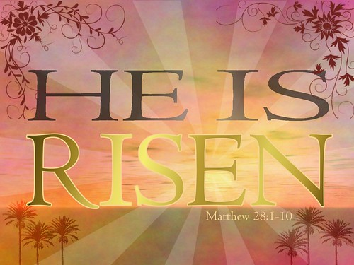 He is risen | by LivingOS