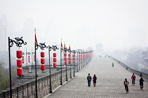cycling Xi'an's city wall | by HydroJen19