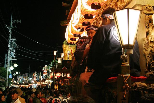 Street of Night [佐原の大祭秋祭り(諏訪神社秋祭り)]