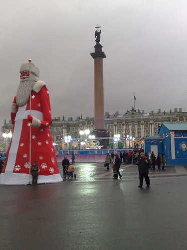 Santa and St Petersburg | by Pot Noodle