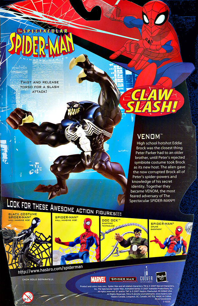 Spectacular Spider Man Venom Toy The Spectacular Spider Man