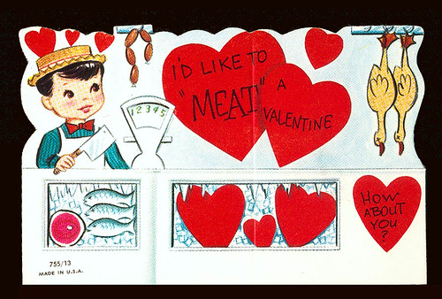I'd like to meat a valentine