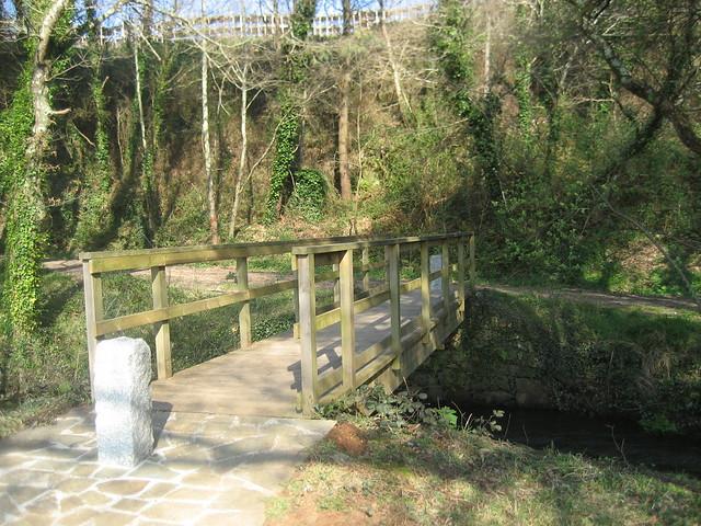 Puente en la PR-G 142 Ruta das Férvedas