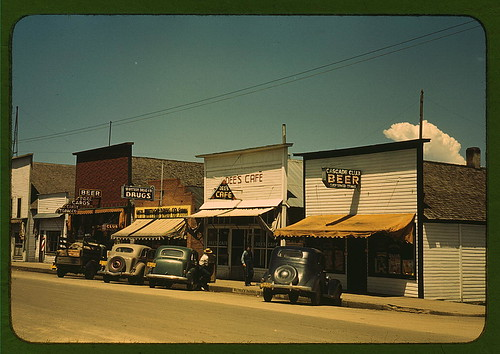 On main street of Cascade, Idaho ...  (LOC) | by The Library of Congress