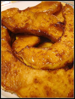 GF:  Ginger and Spice Squash slices | by Kate Chan