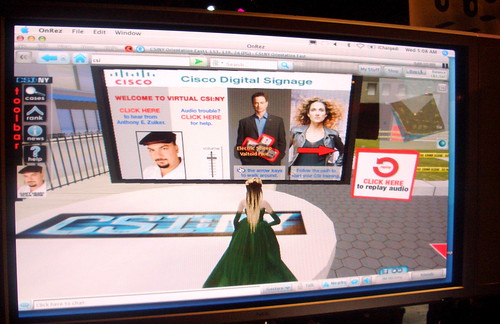 CSI in Second Life launch page | by david.orban