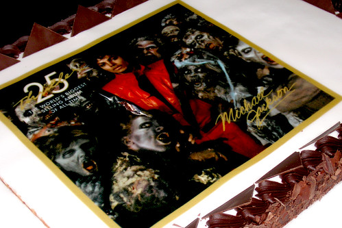 Michael Jackson's Thriller25 Anniversary cake | by amcharg