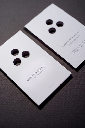 my new business cards | by malota